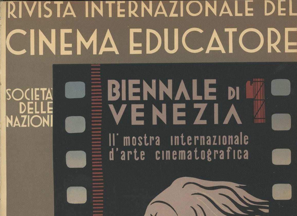 Rivista Internazionale del Cinema Educatore Roma Agosto 1934