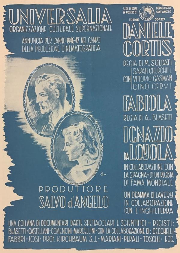 Produzione Universalia Febbraio 1947