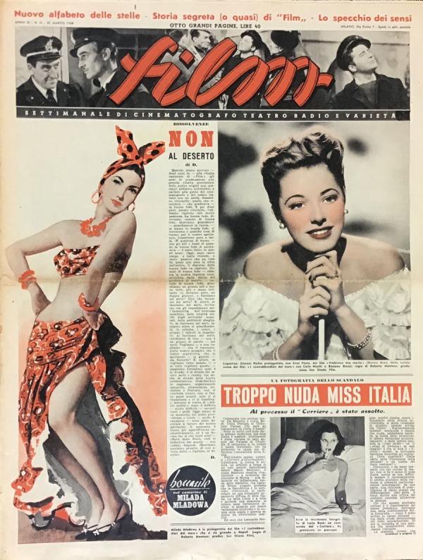 Film Milano 20 Marzo 1948